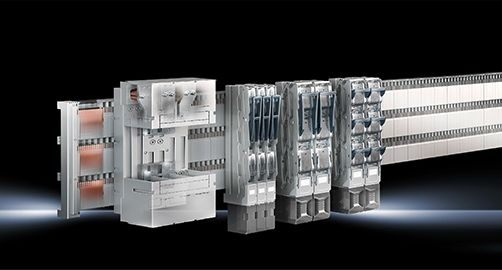 New Busbar System Rittal Ri4Power 185mm  for Safe and Quick Switchgear