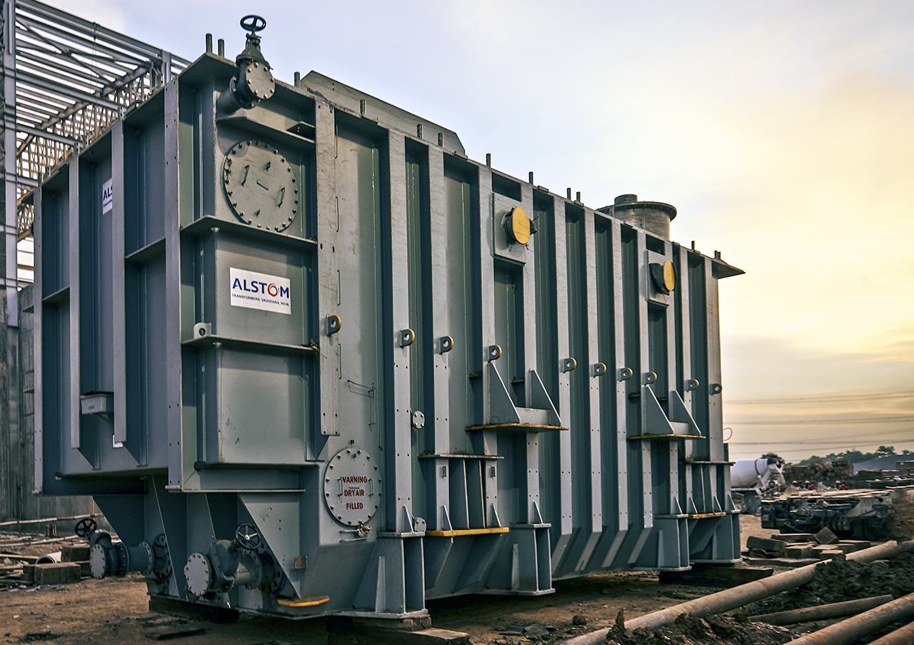 Alstom successfully delivers 1st 800 kV HVDC transformer for India's Champa-Kurukshetra Phase 1 Project