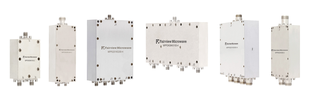 Fairview Microwave Introduces New RF Power Combiners Operating Up to 6 GHz