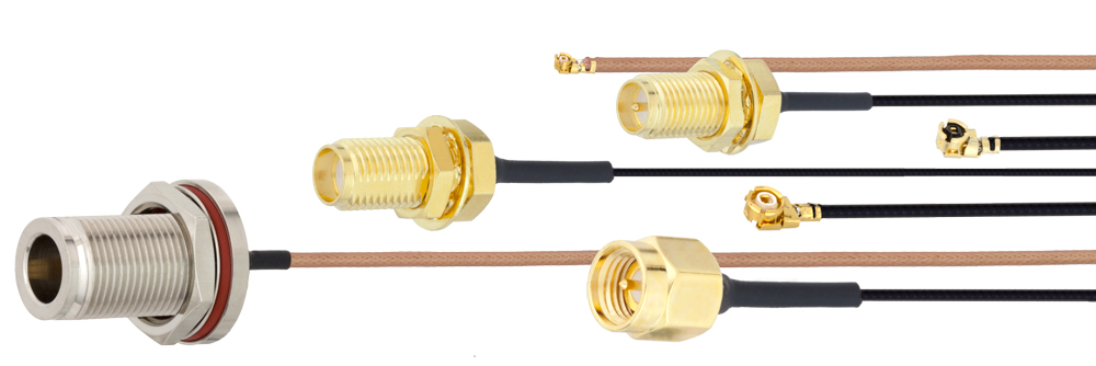 Fairview Microwave Introduces New Ultra-Miniature Cable Assemblies Up to 6 GHz