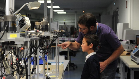 Open day at Axon': a success
