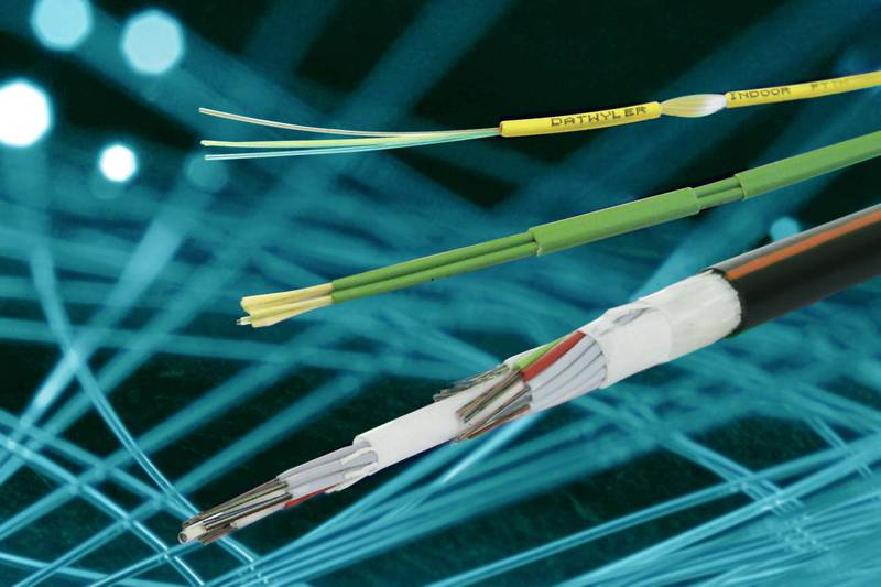 Single-mode cables with improved fibres