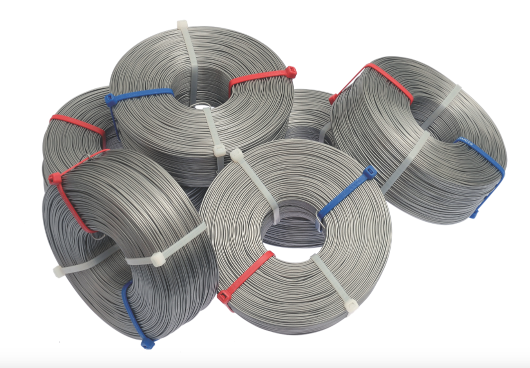 Controlled Annealing and Formulated Wire Coating Ensures Smooth Cable Lashing without Kinks, Tangles and Snags.