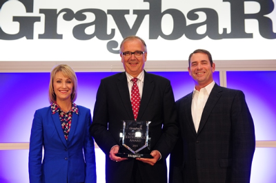 Graybar Presents Hubbell Incorporated with Supplier Excellence Award