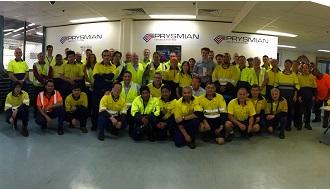 "Prysmian Group awarded Australian nbn's (National Broadband Network) ""Supplier of the Year"""
