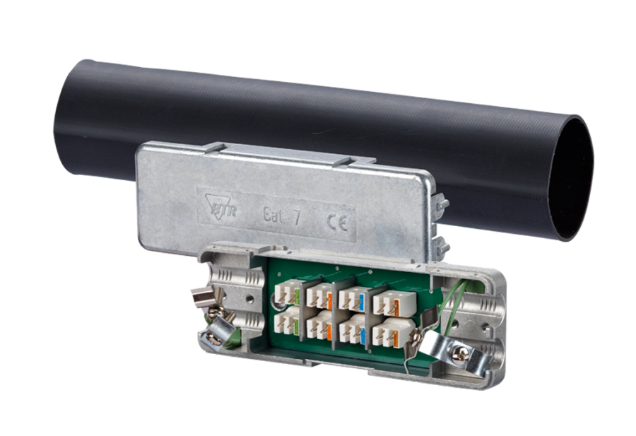 "METZ CONNECT – the ""quality leader"" is proud to introduce the following product: Cat 7 Cable Connector IP67"