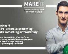 "Prysmian Group launches ""Make it"", the recruitment programme for engineers with plant experience"