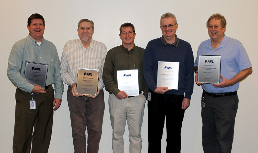 AFL Receives Three Patents for New Technologies