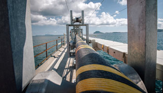 Contract worth around € 250 M for a submarine power cable link between the Netherlands and Denmark