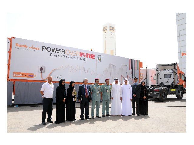 Ducab launches PowerOverFire campaign in partnership with Dubai Civil Defence