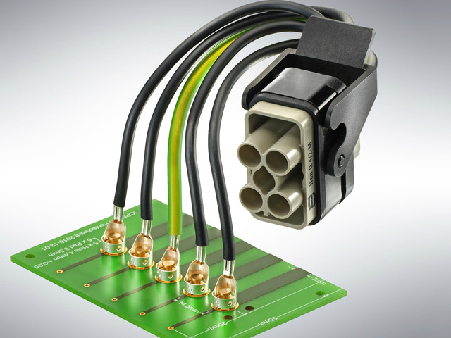 HARTING adds new contacts to Han-Fast® Lock family to give more opportunities for PCB connection to high-current conductors