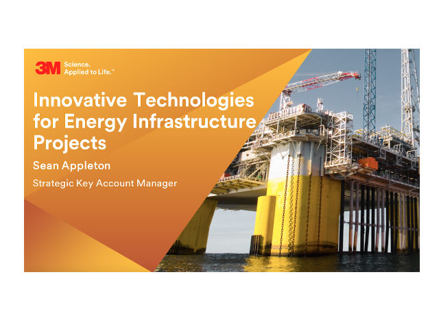 Innovative Technologies for Energy Infrastructure Projects