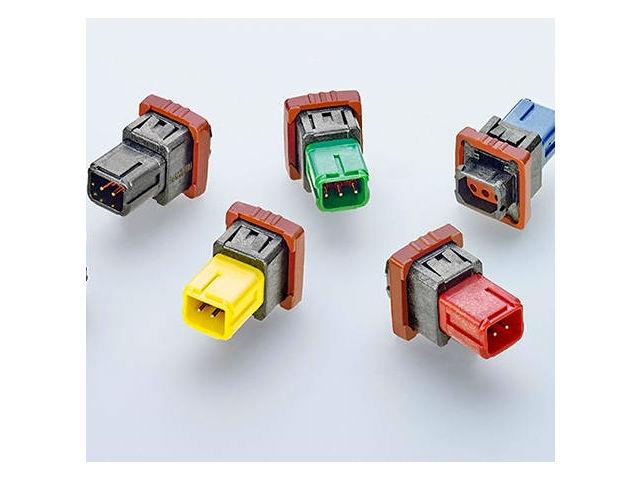 TE New Product Announcement: DEUTSCH 369 Series Panel-Mount Connectors