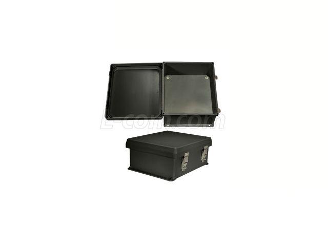 L-com Now Offers UL® Listed Black NEMA Enclosures