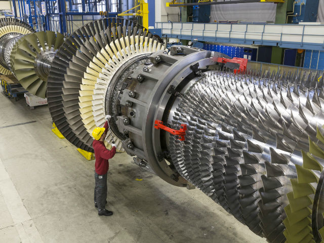 Siemens H-class gas turbines exceed 200,000 operating hours