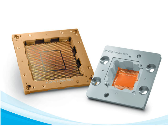 Smiths Connectors Introduces Silmat® Elastomeric Test Sockets