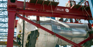 Siemens celebrates placement of first gas turbines at Beni Suef and new brand claim