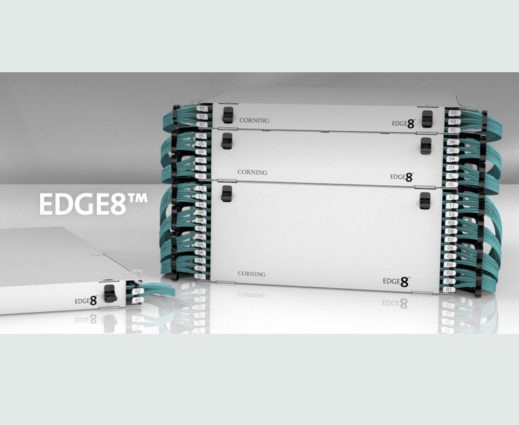 Corning EDGE8TM Solution Named Data Center Cabling Product of the Year