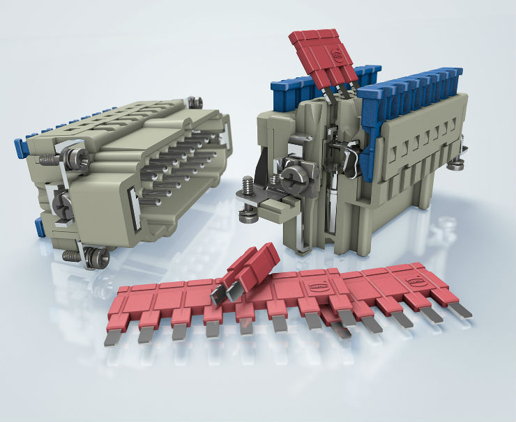 New contact inserts offer tool-free quick termination and potential multiplication