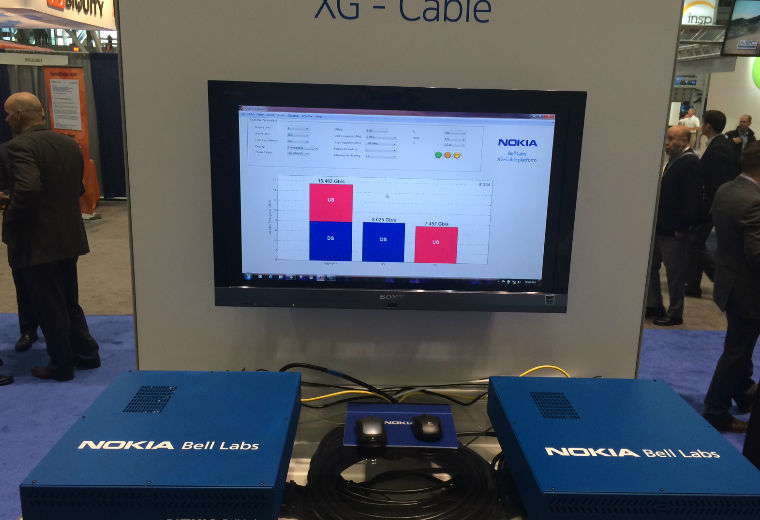 Nokia Bell Labs achieves world's first 10 Gbps symmetrical data speeds over traditional cable access networks