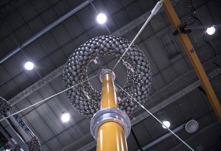 Highest ever voltages reached for HVDC cable systems