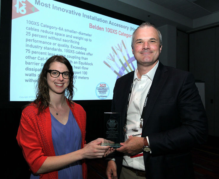 Belden 10GXS CAT 6A Cable Wins Another Innovator Award