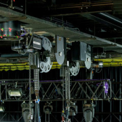 Set the stage: with igus' easy cable management systems at this year's ABTT show