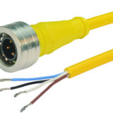 L-com now offers Brad® Ultra-Lock® M12 and Nano-Change® M8 Cable Assemblies
