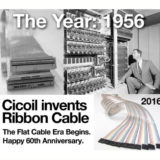 Cicoil Invents the IDC Ribbon Cable