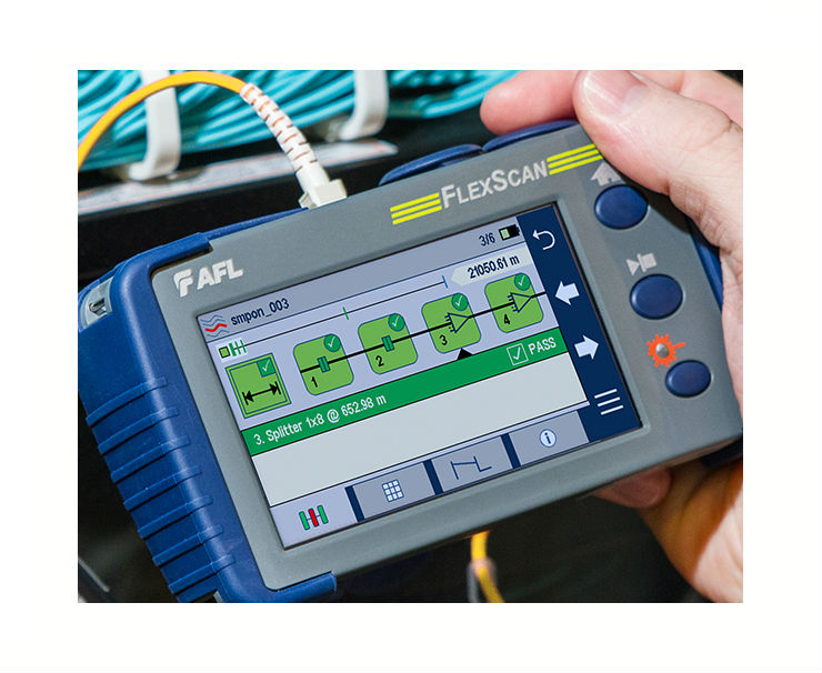 AFL Launches FlexScan PON OTDRs for Testing In- or Out-of-Service