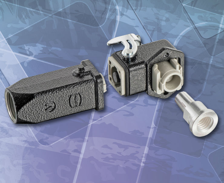 Compact connector offers current-carrying capacity of more than 100 A