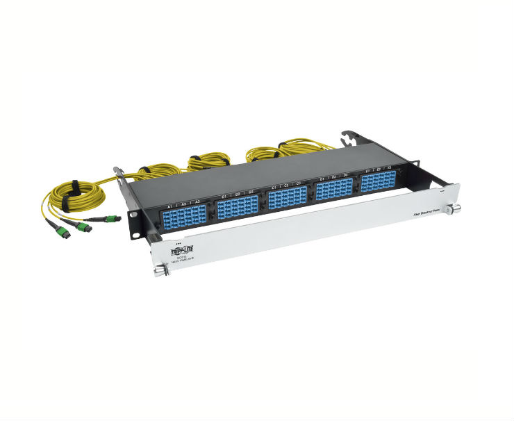 Tripp Lite's New Pre-Assembled 40 Gb to 10 Gb Breakout Fiber Patch Panels Offer a Hassle-Free Alternative to Breakout Cables