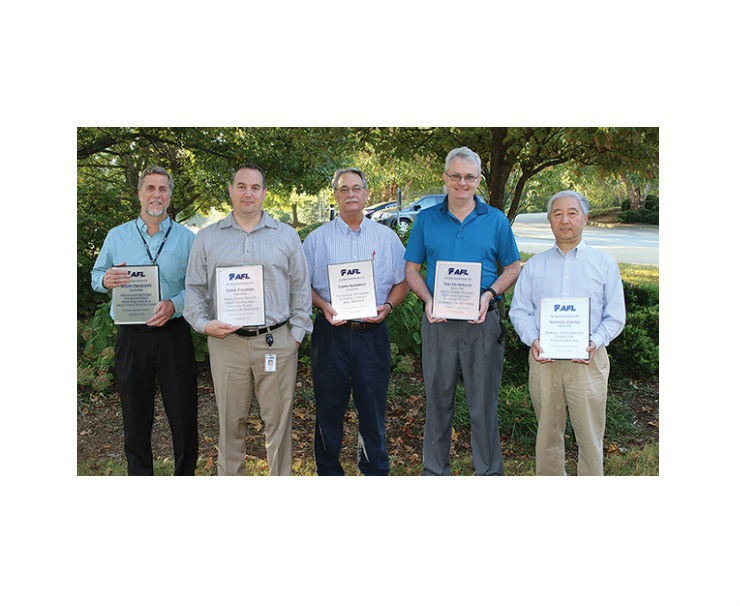 AFL Recipient of Six Technology Patents