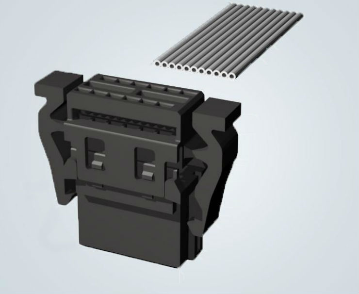 Self-assembly har-flex® IDC cable connectors boost options for custom cable assemblies