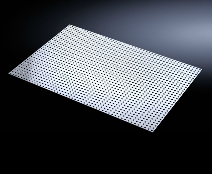 Rittal Launches Slotted Cover Plate for Electrical Distribution Systems