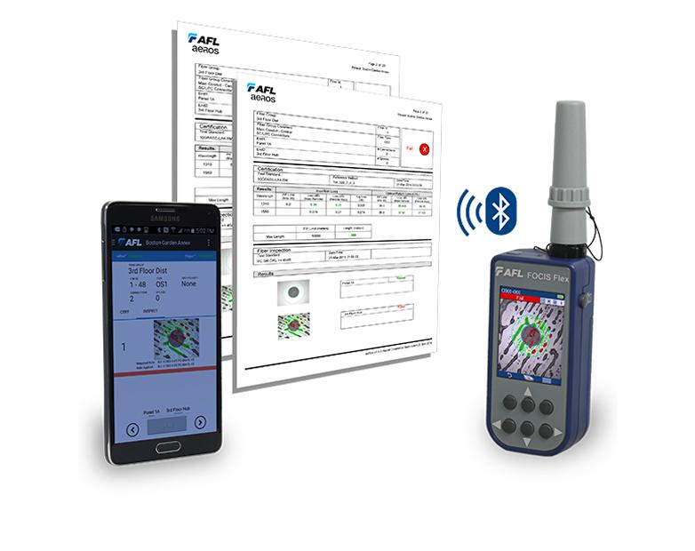 AFL Introduces Enhanced FOCIS Flex Connector Inspection
