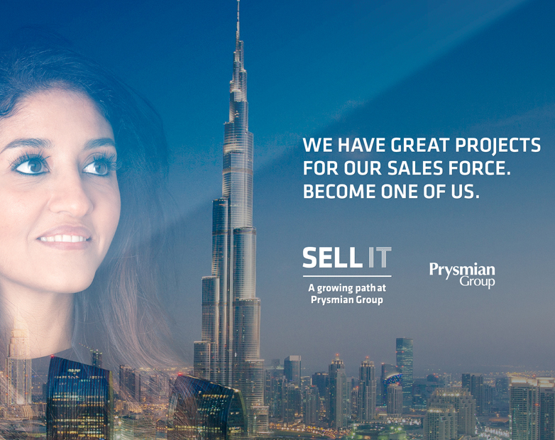 "Prysmian Group launches ""Sell it"", the recruitment programme dedicated to the sales and marketing area"