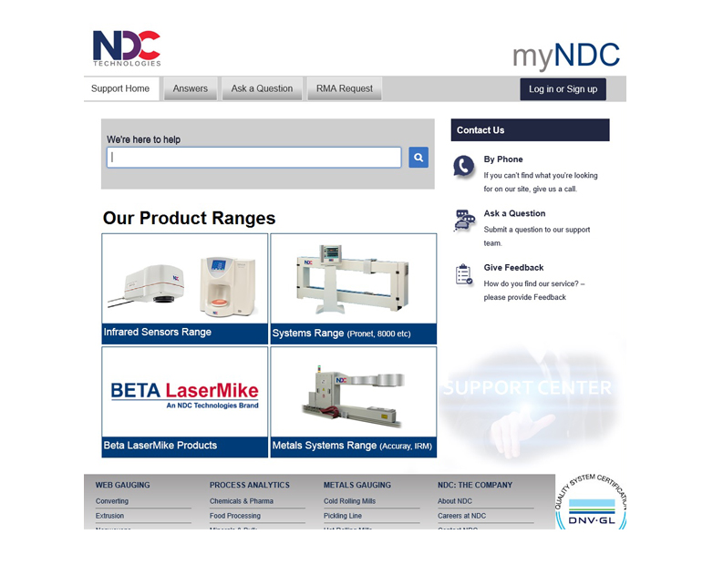 "NDC Technologies Announces Service Cloud ""myNDC"" to Elevate the Customer Service Experience"