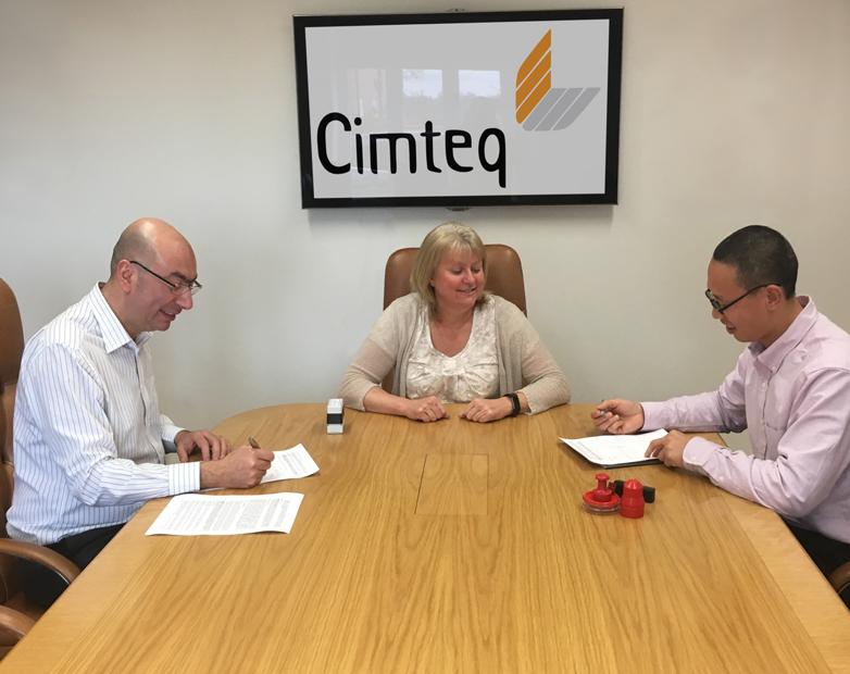 Cimteq and Shanghai Hooding announce strategic partnership for China