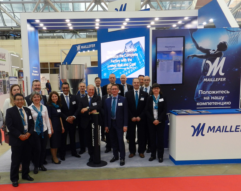 Thank You for Visiting Maillefer at wire Russia 2017