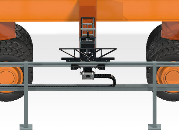 10 Gbit/s at your fingertips: igus d-rover provides RTG cranes with high-speed data