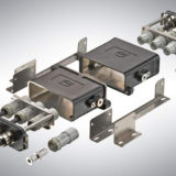 Han® 16 HPR EasyCon: robust connectors for miniaturisation in the rail sector