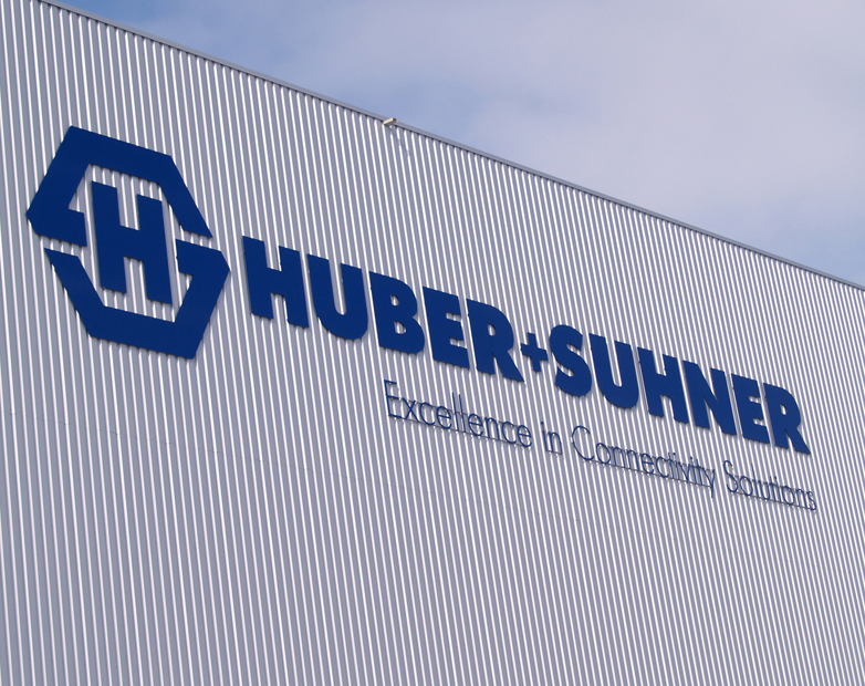 HUBER+SUHNER grows strongly