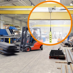 igus guidefast control system for the manual control of indoor cranes