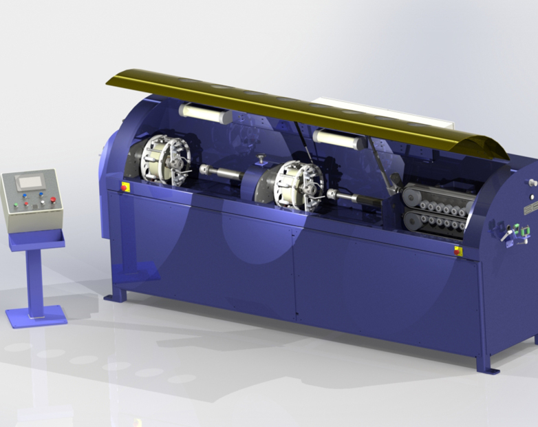 Ridgway Machines Innovative New High Speed Taping Line