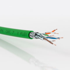 Fast PROFINET® cables for industrial networks