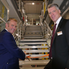 High-tech manufacturer igus unveils expanded workspace following business growth