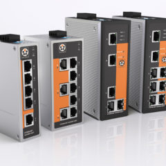 Industrial switches for high-availability networks