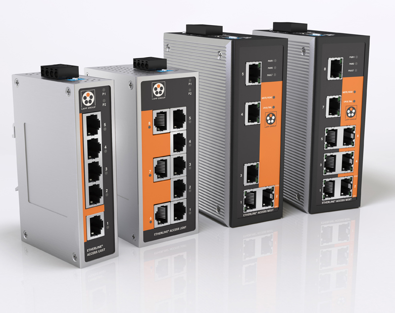 Robust Switches for Demanding Industrial Networks