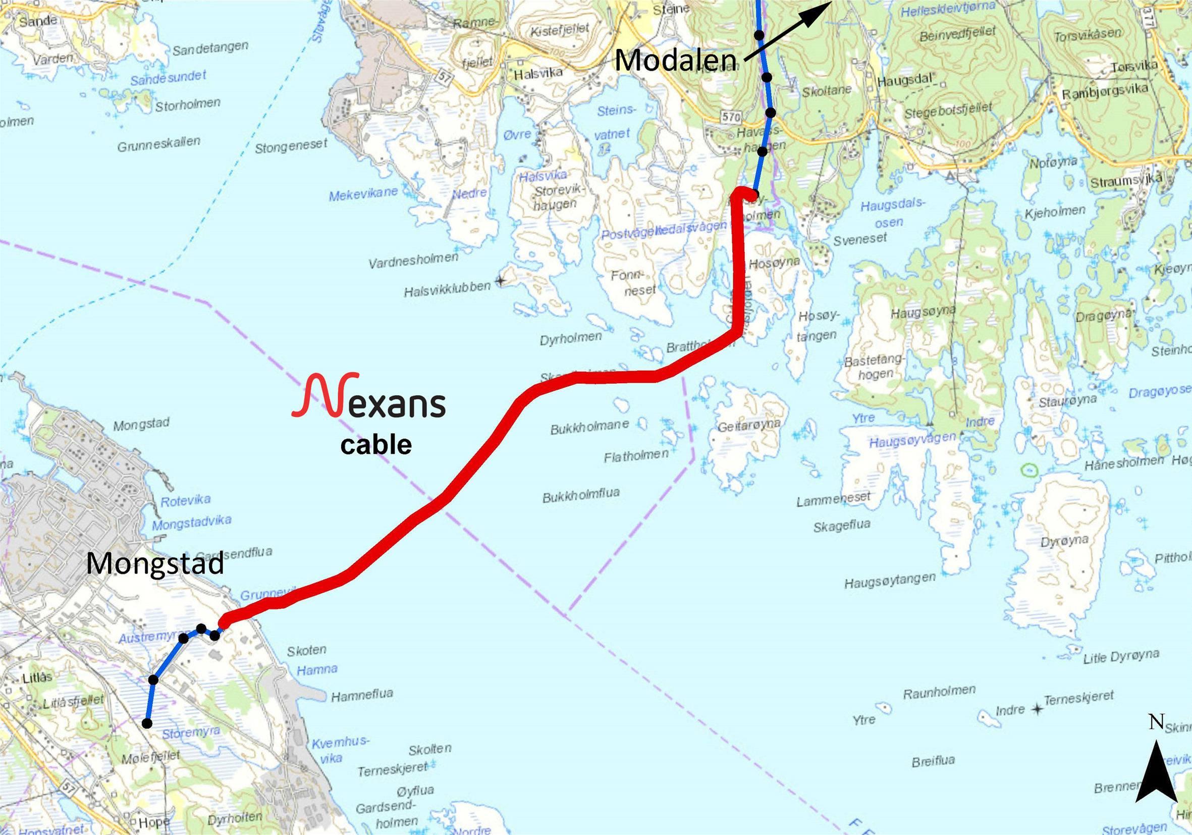 Nexans Sets a New World Record to Strengthen Norway's Power Grid